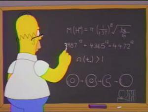 Homer vs Fermat
